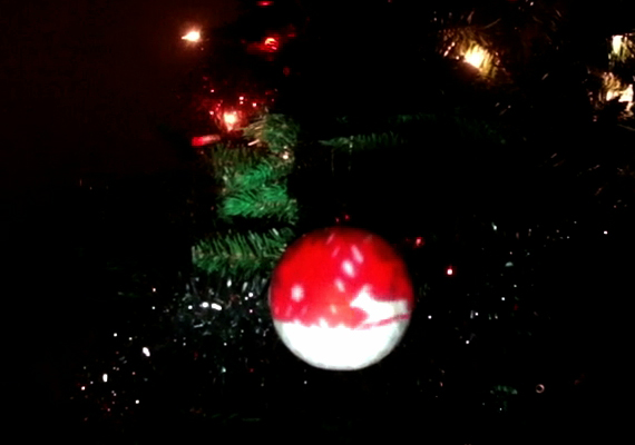 Experimental Projection of 'Deer Bauble'